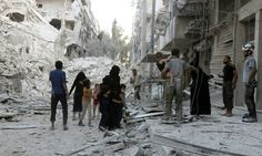 Attacks on civilians in Aleppo 'breach' humanitarian law EU - Daily Mail #757LiveIN