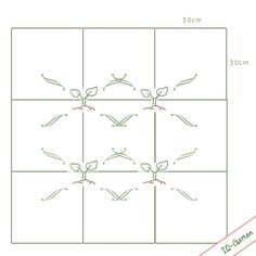 Ich pflanze nicht in Reihen, sondern in Quadrate. Immer wenn ein Quadrat abgeerntet ist, wird es danach neu bepflanzt. Das ist wunderschön einfach, macht das P...