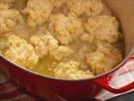 Farm-Style Chicken and Drop Dumplings Recipe : Nancy Fuller : Food Network Chicken And Drop Dumplings Recipe, Dumpling Recipe, Homemade Drop Dumplings Recipe, Cheese Dumplings Recipe, The Farm, Top Recipes, Cooking Recipes, Fall Recipes, Cooking