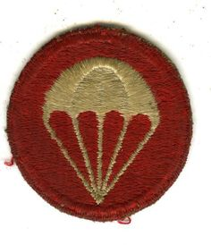 WW2 Parachute Artillery Overseas Hat Device