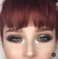 On some days it's better if we say less and let our eyeslashes do the talking! The flawless turns heads in our 'Vamp' lashes! Vamp Makeup, Cute Eye Makeup, Hazel Eye Makeup, Hazel Eyes, Makeup Looks, Kawaii Hairstyles, Retro Hairstyles, Wet N Wild, Red Hair Green Eyes