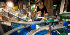 Take a trip to the children's museum - both educational and fun for the kids. KidsQuest Children's Museum in Bellevue is great!