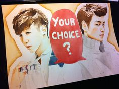 BangYongGuk vs. TOP by Nynirere My choice?... Yongguk of course ^_^