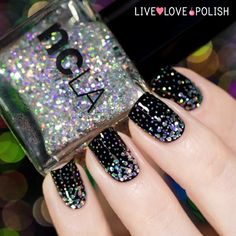 Amazing nail colors and nail art. Perfect for Goths, punk, Steampunk and girls that like to stand out.