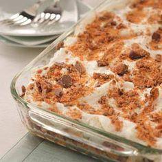 Toffee Crunch Dessert Recipe