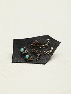 Free People Tiny Cluster Set of 6 Studs