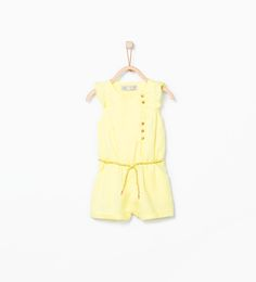 Image 1 of Jumpsuit with frilled shoulder from Zara