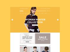 Web Background / A little view on header design.