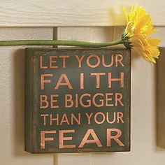 Let Your Faith…Sign from Through the Country Door® | NI719980