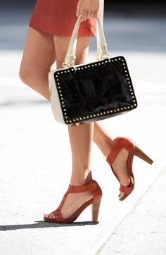 We're craving this studded handbag