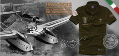 "MM003X Dedicated to the 80 Anniversary fo ""Decennale of Arma Azzurra"" Atlantic Flight"
