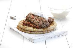 Κεμπάπ γιαουρτλού, με τέλεια σάλτσα εζμέ