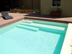 L'escalier sur mesure par l'esprit piscine - Escalier sur mesure avec banquette
