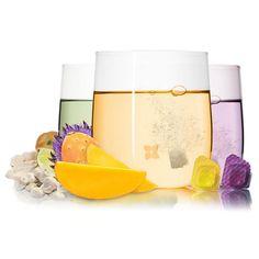 Taster pack with bottle – Waterdrop® EU Plastic Bottles, Glass Bottles, Wine Glass, Detox Drinks, Healthy Drinks, Vitamine B12, Glow, Pantothenic Acid, Fruit Water