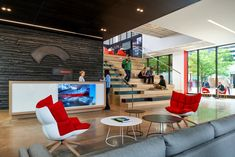 Global architecture firm Gensler has developed a new office design located in Denver, Colorado.