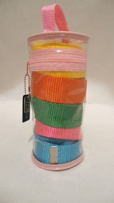 Guess Multi Color Belt Package.  Interchangeable buckle.  SOLD!