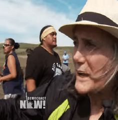 Journalist arrest warrant - for covering Native American protest of pipeline crossing their lands. Goodman to turn herself in - citing US govt violation of 1st Amendment rights - violating a journalist's right to report & public-right-to-know. http://www.truth-out.org/news/item/38006-journalist-amy-goodman-to-turn-herself-in-to-north-dakota-authorities https://www.youtube.com/watch?v=CrfEasDnfGM