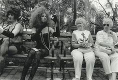 Drag queens and grannies - diane arbus