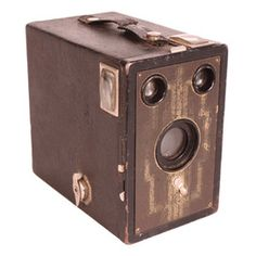 Vintage Kodak Brownie Six-Sixteen Camera. I had one of those when I was a kid!