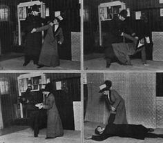 Badass Edith Garrud-first woman to learn jiu-jitsu in the west and used it for the suffragette movement
