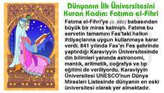 Dünyanın İlk Üniversitesini Kuran Kadın: Fatıma el-Fihri
