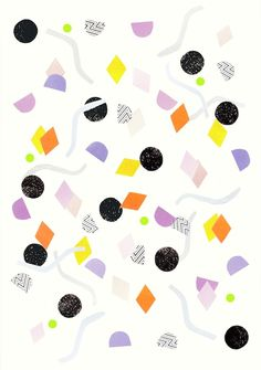 abstract handmade pattern by laura redburn