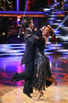 For my money (and the judges'), the dance of the night: Louis and Sabrina. Week Two, All Stars