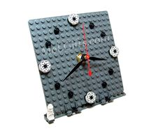 Star Wars Clock, Galactic Model made from Star Wars LEGO (r) Pieces, Star Wars Galactic Clock by MoLGifts on Etsy https://www.etsy.com/listing/110265969/star-wars-clock-galactic-model-made-from