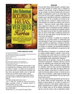 1  OTROS LIBROS DEL AUTOR The Science of Herbal Medicine The Treatment of Cancer with Herbs The Complete Book of pieces He...