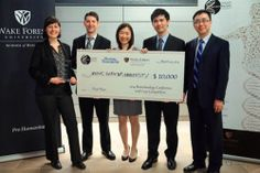 """Congratulations to the team of students from Johns Hopkins University who won the $10,000 first prize in the Biotechnology Conference and Case Competition at Wake Forest University in Winston-Salem, N.C. The team consisted of students from five JHU schools and they were """"challenged by lead sponsor Boston Scientific to create methods of improving value for patients in the company's endoscopy division.""""   http://hub.jhu.edu/2014/04/10/wake-forest-biotech-competition"""