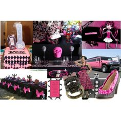 Image detail for -monster high ideas - CafeMom Festa Monster High, Monster High Birthday, Monster High Party, Monster High Dolls, Monster Girl, 4th Birthday Parties, Baby Birthday, Birthday Bash, Birthday Ideas