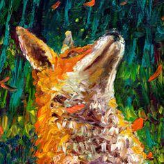 Iris Scott ~ Painting with fingers / hands Painting Process, Painting Lessons, Artist Painting, Finger Paint Art, Finger Painting, Iris, North American Animals, Writing Art, Fox Art