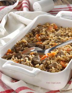 Gerslis marharagu – Receptletöltés Quinoa, Cereal, Breakfast, Food, Bulgur, Morning Coffee, Essen, Meals, Yemek