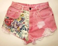DIY Clothes Refashion : DIY shorts : DIY Clothes : DIY Fashion : DIY Refashion : DIY Sew : DIY Upcycle : DIY Shorts : DIY Denim