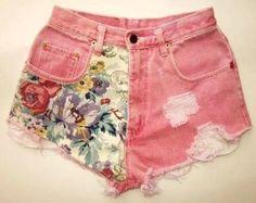 DIY Clothes Refashion : DIY shorts : DIY Clothes : DIY Fashion : DIY Refashion : DIY Sew : DIY Upcycle : DIY Shorts : DIY Denim