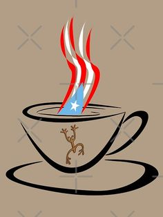 Puerto Rican coffee and the coqui taino. Puerto Rican Power, Puerto Rican Girl, Puerto Rican Flag, Coqui Taino, Puerto Rican Coffee, Taino Symbols, Boss Wallpaper, Puerto Rico History, Puerto Rican Culture