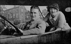 It was ALWAYS a party with these two... Scott & Zelda Fitzgerald