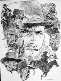Eastwood by Sanjulian Comic Art