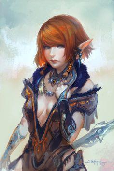 f High Elf Cleric Medium Armor Necklaces Staff female Traveler lg Fantasy Character Design, Character Concept, Character Inspiration, Character Art, Elf Characters, Dungeons And Dragons Characters, Fantasy Characters, Elves Fantasy, Fantasy Warrior