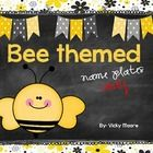 This little pack is just my bee themed name plates only.  If you are interested in the entire pack please see that in my store.  Included are just ...