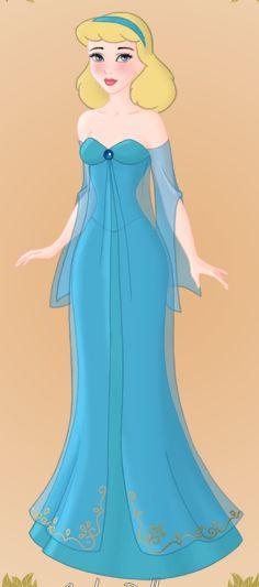 The Blue Fairy Godmother Queen Angelina Starr our Goddess by princessahagen.deviantart.com on @DeviantArt
