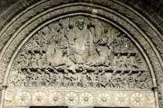 Abbazia di Saint Pierre de Moissac - il timpano con la scena apocalittica - descritto da Umberto Eco nel Nome della Rosa