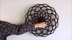 Kinetic sculpture by Clayton Boyer Secret Rooms In Houses, Kinetic Art, Kinetic Toys, Wind Sculptures, Steel Art, Optical Illusions, Woodworking Crafts, Installation Art, Arts And Crafts