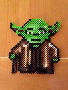 Perler Yoda star wars
