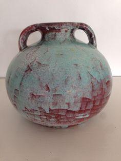 Michael Andersen Keramik vase m. Persia glasur