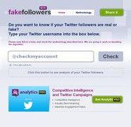 Fake Followers. Débusquez vos faux followers sur Twitter.