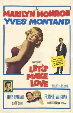 """LET'S MAKE LOVE."" Marilyn Monroe's Name Is Amanda In This Movie."