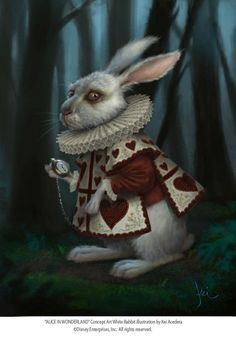 Key Acedera, rabbit, Alice in wonderland