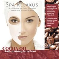 Spa Relaxus - Cocoa Oil Facial Mask - PPK of 12
