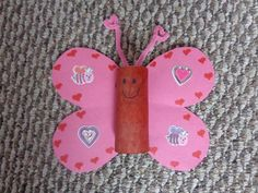 Craft a Valentine's Day Butterfly for Your Child
